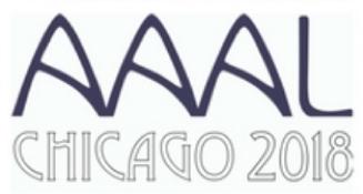 AAAL 2018 logo