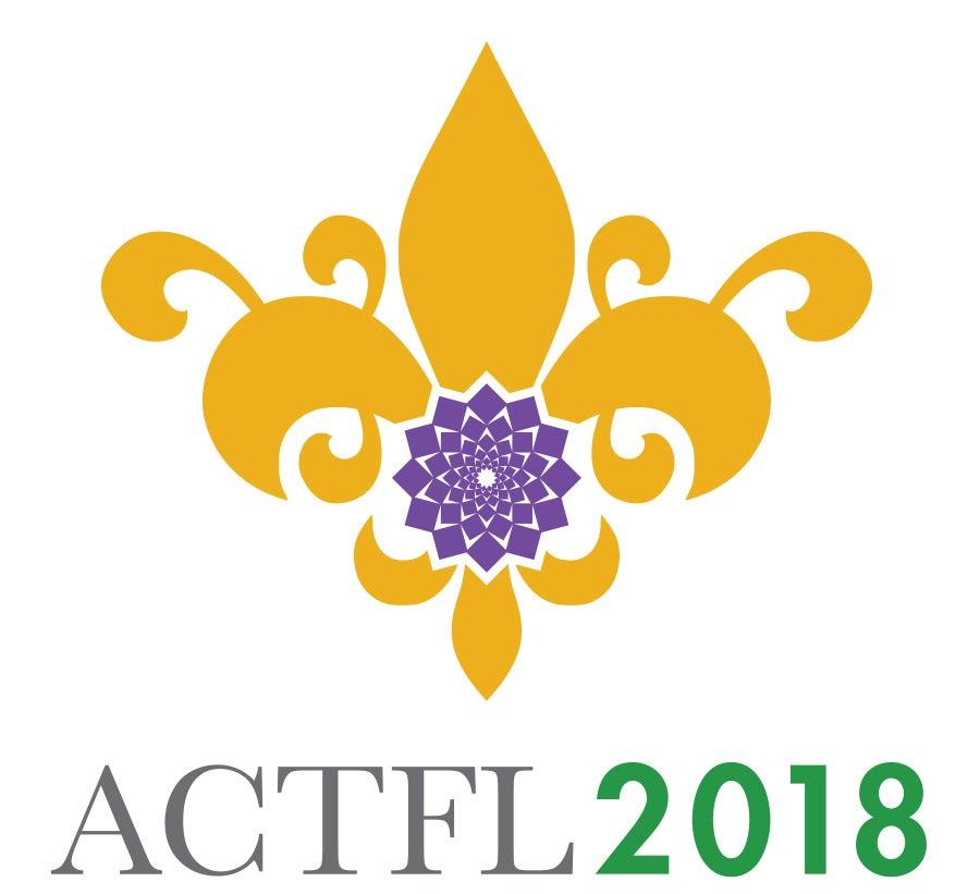 ACTFL 2018 logo