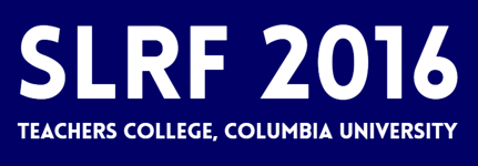 Logo for SLRF 2016